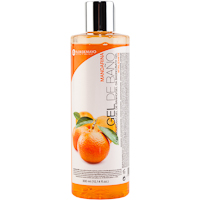 Gel de baño de mandarina FLOR de MAYO, bote 300 ml