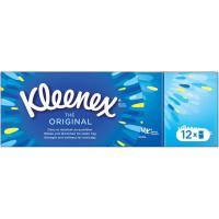 Pañuelos original KLEENEX, paquete 12 unid.
