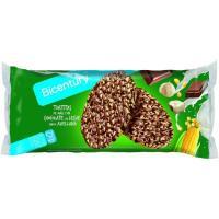 Tortitas de maíz de chocolate-avellana BICENTURY, paquete 108 g