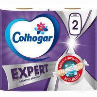 Papel de cocina COLHOGAR Expert, paquete 2 rollos