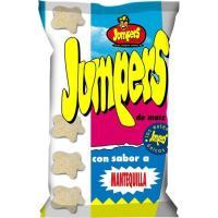 Gusanitos de mantequilla JUMPERS, bolsa 100 g