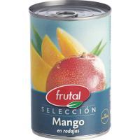 Mango en rodajas JUVER, lata 235 g
