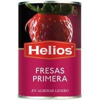 Fresas en almíbar HELIOS, lata 145 g