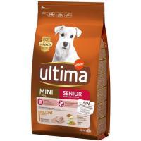 Alimento para perro mini senior +7 años ULTIMA, saco 1,5 kg