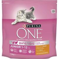 Alimento para gato junior PURINA One, saco 1,5 kg