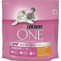 Alimento para gato junior PURINA One, saco 1,5 kg
