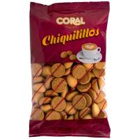 Chiquitillos CORAL, paquete 250 g