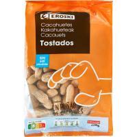 Cacahuetes cáscara tostados, bolsa