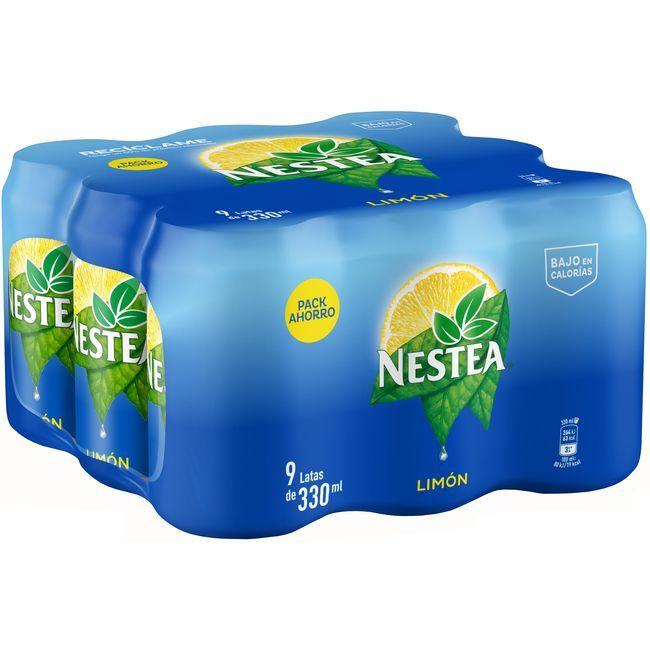 Tè al limòn NESTEA, pack 9x33 cl