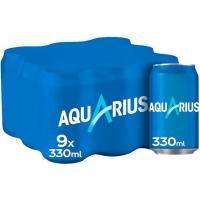 Bebida isotònica de limòn AQUARIUS, pack 9x33 cl