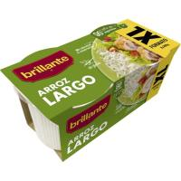 Vasitos de arroz largo XL BRILLANTE, pack 2x200 g