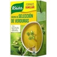 Puré de verduras KNORR, brik 1 litro