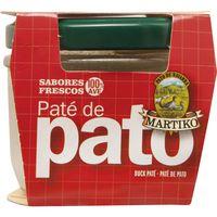 Paté de pato  MARTIKO, frasco 100 g