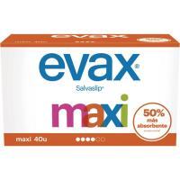 Protector maxi EVAX, caja 40 unid.