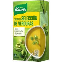 Crema selecta de verduras KNORR, brik 500 ml