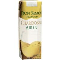 Vino Blanco Chardonnay DON SIMON, pack 3x25 cl