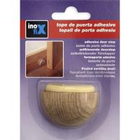 Tope para puerta adhesivo color roble INOFIX