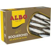 Boqueron en aceite de oliva ALBO, lata 120 g