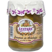 Alcachofa en aceite de oliva LEYENDA, frasco 380 g