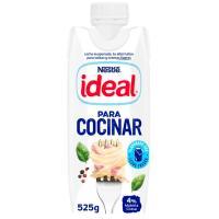 Leche líquida evaporizada IDEAL, brik 525 g