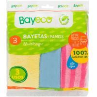 Bayetas multihogar BAYECO, pack 3 unid.