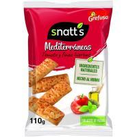 Palitos mediterráneas con tomate SNATT`S, bolsa 110 g