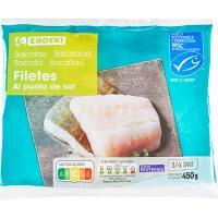 Filetes de bacalao EROSKI, bolsa 450 g