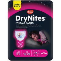Pañal niño 3-5 años 16-23 kg HUGGIES DryNites, paquete 16 unid.