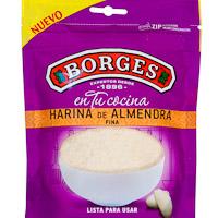Harina de almendra BORGES, bolsa 125 g