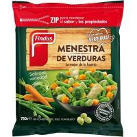 Menestra de verdura FINDUS, bolsa 750 g