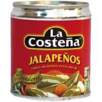 Jalapeños-nachos LA COSTEÑA, lata 220 g