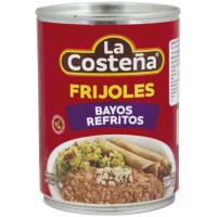 Frijoles refritos Bayos LA COSTEÑA, lata 580 g