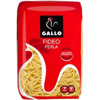 Fideo Perla GALLO, paquete 500 g