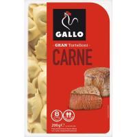 Tortelloni con carne GALLO, bandeja 200 g