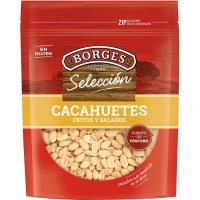 Cacahuetes fritos-salados BORGES, bolsa 200 g