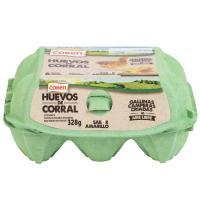Huevo campero COREN, caja 6 unid.