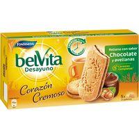 Belvita rellena de chocolate-avellanas FONTANEDA, caja 253 g