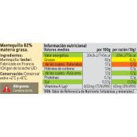 Mantequilla EROSKI, pastilla 250 g