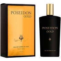 Colonia para hombre Gold POSSEIDON, frasco 150 ml