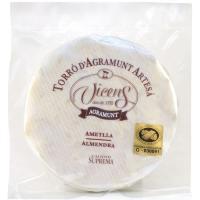 Torta artesanal almendra VICENS, tableta 200 g