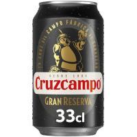 Cerveza Gran Reserva CRUZCAMPO, lata 33 cl