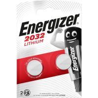 Pila especial botón 2032 ENERGIZER, pack 2uds