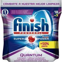 Lavavajillas máquina FINISH Quantum MAX, bolsa 18+9 dosis