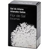 Flor de sal VALLE DE AÑANA, paquete 125 g