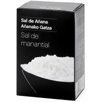 Sal de manantial VALLE DE AÑANA, paquete 250 g