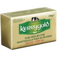 Mantequilla con sal KERRYGOLD, pastilla 250 g