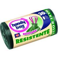 Bolsa de basura reciclada 30 l. HANDY BAG, paquete 25 unid.