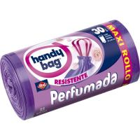 Bolsa de basura perfumada 30 l. HANDY BAG, paquete 25 uds.