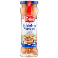 Salchichas Schinken MEICA, 3 unid., frasco 130 g