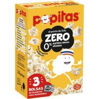 Palomitas zero POPITAS, pack 3x70 g